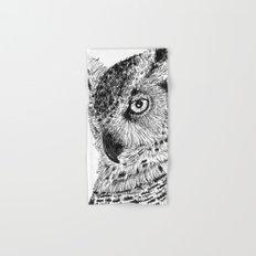 Ink Owl Hand & Bath Towel