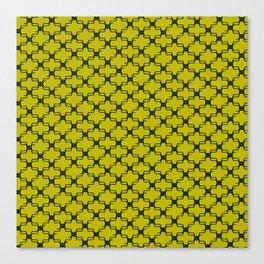 Lemon Emerald Canvas Print