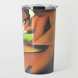 Tiger After Franz Marc Travel Mug