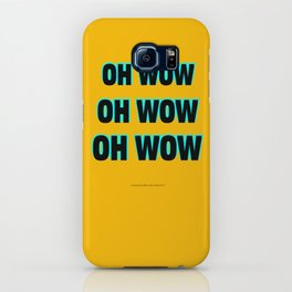OH WOW #1 iPhone Case