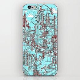 San Francisco! (Turquoise) iPhone Skin