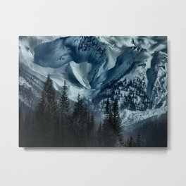 Foot of the Glacier  Metal Print