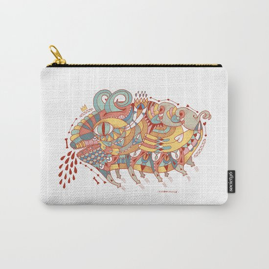 Goat Pig Monster Carry-All Pouch