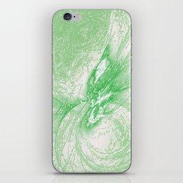 Splatter in Limeade  iPhone Skin