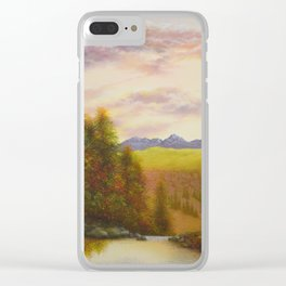 Above the Gorge Clear iPhone Case