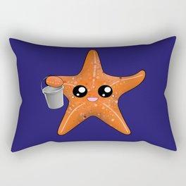 Kawaii Starfish Rectangular Pillow