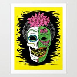 La Velada de los Muertos Vivientes Art Print