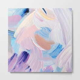 Jess Abstract Painting Metal Print