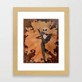 Skellington Framed Art Print