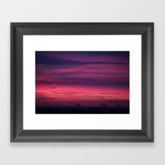 Urban Dawn Framed Art Print