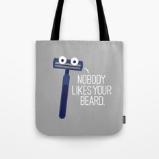 Let's Face It Tote Bag
