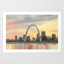St Louis - USA Art Print