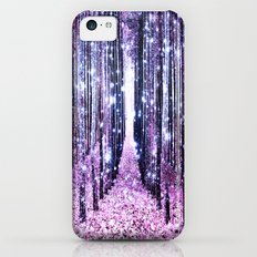 Magical Forest Path Lavender Pink Periwinkle Slim Case iPhone 5c