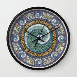 Ninth Wave Shield Wall Clock
