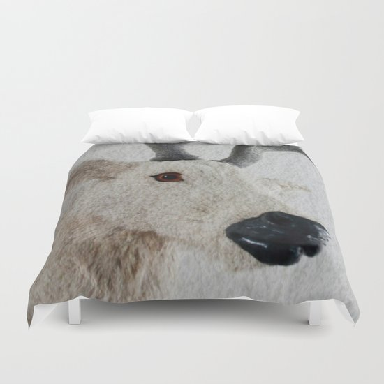 Winter Deer - JUSTART © Duvet Cover