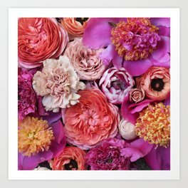 Flower Design 14 Art Print