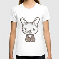 boxing T-shirts featuring Boxing Bunny by pencilplus