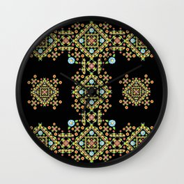 Gothic Folkloric Wall Clock