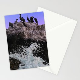 Out Of Danger: Bird Rock Stationery Cards