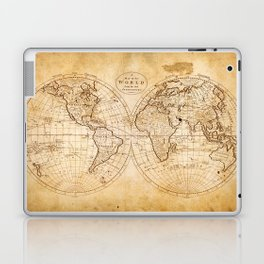 World in Hemispheres Laptop & iPad Skin