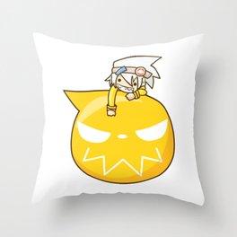 SE Evans Chibi Throw Pillow