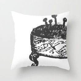 Sewing lessons Throw Pillow