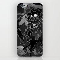 Deathly Bear iPhone & iPod Skin