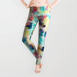 Painted Boxes Leggings