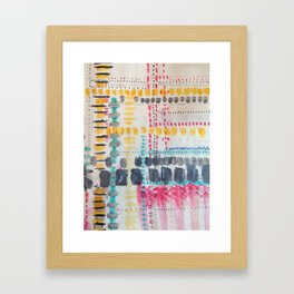 Map To Morocco (7) Framed Art Print