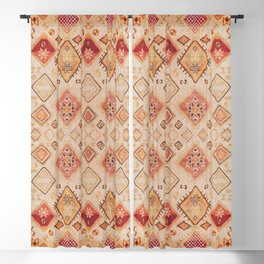 Traditional Oriental Desert Bohemian Moroccan Style  Blackout Curtain