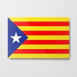 Bandera estelada Metal Print