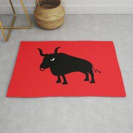 Angry Animals: Bull Rug