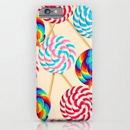 Retro Lollipops iPhone Case