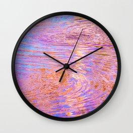 La Brea Art Pit Wall Clock