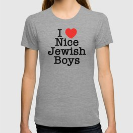 I Love Nice Jewish Boys T-shirt