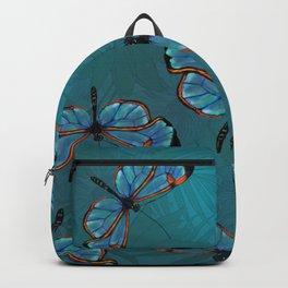 GlassWinged Greta Oto butterflies Backpack