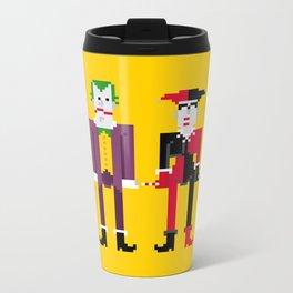Joker and Harley Quinn Metal Travel Mug