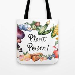Plant Power Tote Bag