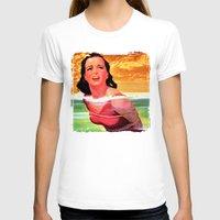 bondage T-shirts featuring Beach Blanket Bondage by sasha alexandre keen