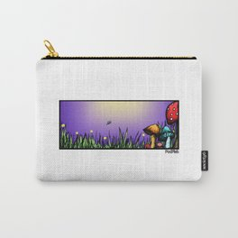 Mushroom Field Carry-All Pouch