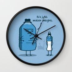 Water Weight Wall Clock