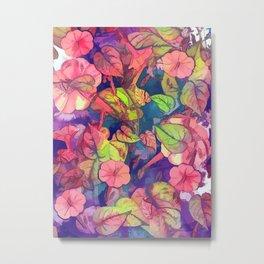 flowers 27 #flora #flowers #pattern Metal Print