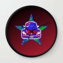 Star Bug Wall Clock