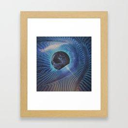 Planetary Explosion Framed Art Print