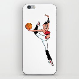 CoolNoodle with Jordan6 Carmine iPhone Skin
