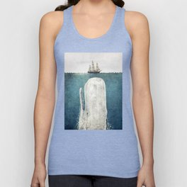 The Whale - vintage Unisex Tanktop