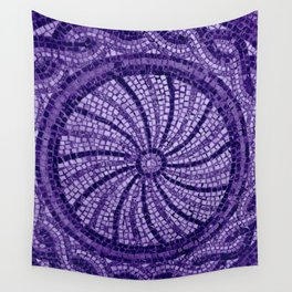 Ultra Violet Stone Tiles 18-3838 Wall Tapestry
