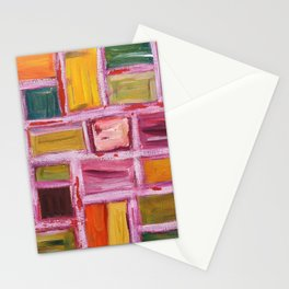 Abstract Painting 76 Stationery Cards