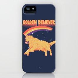 Golden Believer iPhone Case