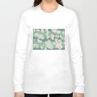 sakura Long Sleeve T-shirts featuring Sakura by Maria Durgarian